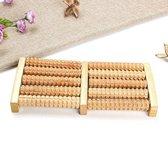 Houten Massagerol - Voet Massage Roller - 26,5 x 12,5x3cm