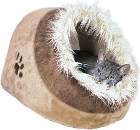 Trixie Iglo Minou - Mand kat - Beige