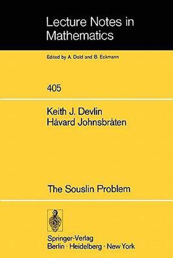 The Souslin Problem