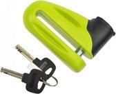 Schijfremslot Voor Scooter & Motor Padlock - Motorslot Remschijfslot - Remschijf Schijfrem Slot Scooterslot - 10mm