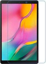 Afbeelding van Shop4 - Samsung Galaxy Tab A 10.1 (2019) Heldere Screenprotector - Gehard Glas Helder Transparant