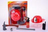 Brandweer verkleed speelgoed set