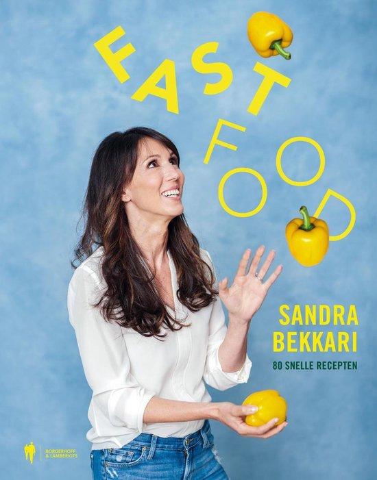 Boek cover Fast Food van Sandra Bekkari (Onbekend)
