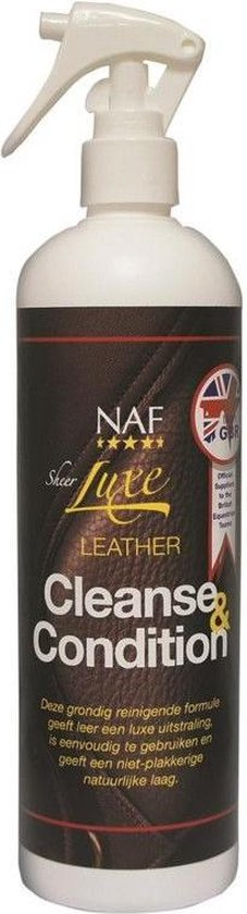 NAF Sheer Luxe Leather Cleanse & Condition