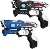 Lasergame set - 2 laserpistolen - KidsFun laser game speelgoed met 2 laserguns
