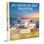 Bongo Bon - Duizend-en-één Nachten Luxe Cadeaubon - Cadeaukaart cadeau voor man of vrouw | 2000 luxueuze hotels