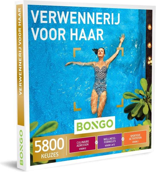 Bongo Bon Nederland - Verwennerij voor Haar Cadeaubon - Cadeaukaart cadeau voor vrouw   5800 belevenissen: culinair, wellness, actief en meer
