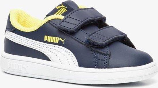 bol.com | Puma Smash V2 kinder sneakers - Blauw - Maat 20