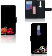 Nokia 4.2 Wallet Case met Pasjes Sports