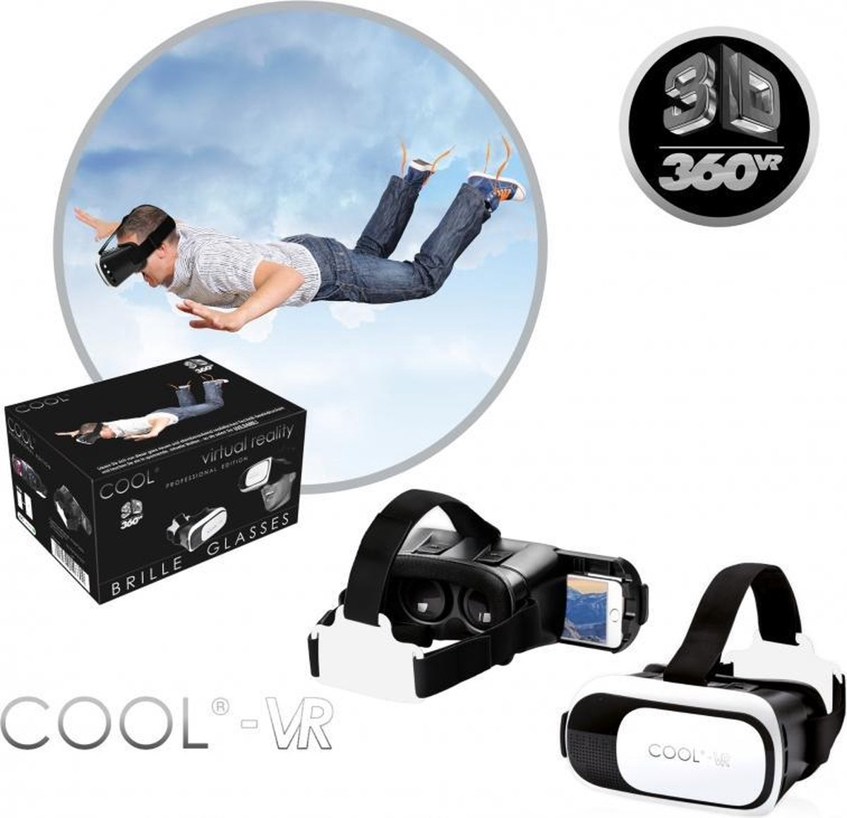 Cool Virtual Reality 3D Bril