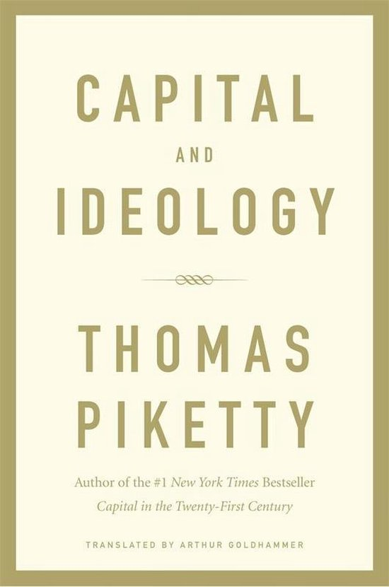 Boek cover Capital and Ideology van Thomas Piketty (Hardcover)