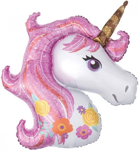 Folieballon Unicorn - 83 cm