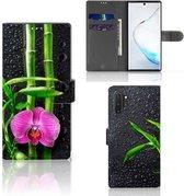 Samsung Galaxy Note 10 Plus Hoesje Orchidee