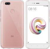 Hoesje CoolSkin3T TPU Case voor Xiaomi MI A1 Transparant Wit