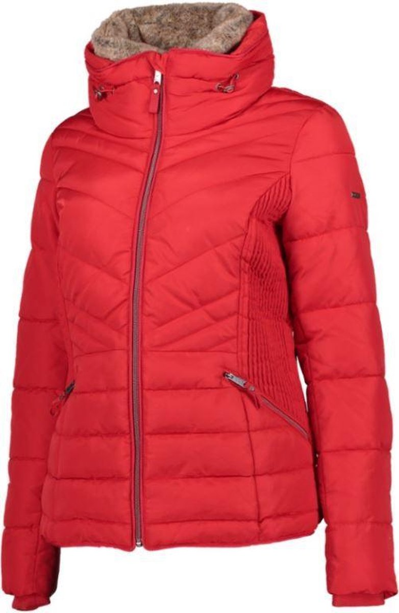 | Tom Tailor Puffer dames jas L brilliant red
