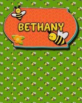 Handwriting Practice 120 Page Honey Bee Book Bethany