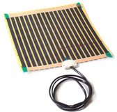 Spiegelverwarming, verwarming voor spiegels 30x60cm-26W-200W/m2