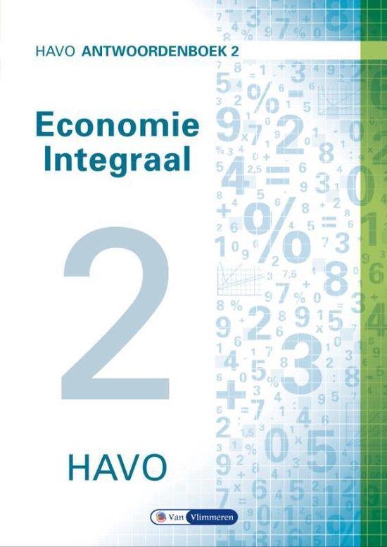 Economie Integraal havo Antwoordenboek 2 - Ton Bielderman |