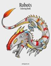 Robots Coloring Book 1