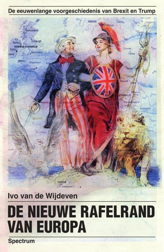 Boek cover De nieuwe rafelrand van Europa van Ivo van de Wijdeven (Onbekend)