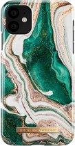 iDeal of Sweden Apple iPhone 11 Fashion Hoesje Golden Jade Marble