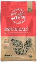 Bunny nature botanicals maxi mix frambozenblad / bloemkoolbloesem 450 gr