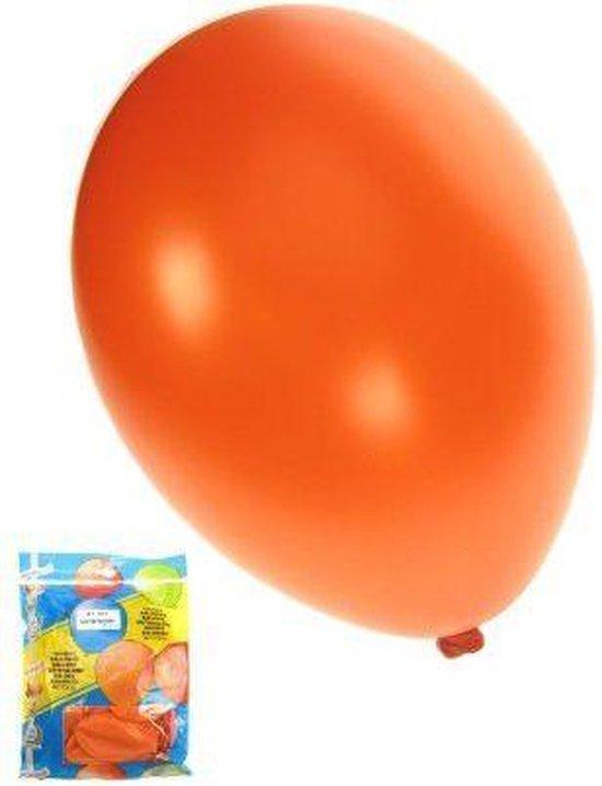 Kwaliteitsballon - 50 st - Metallic Oranje