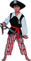 Carnavalskleding Piraat Schateiland kind Maat 104