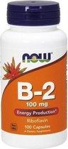 Vitamine B-2 100mg 100caps