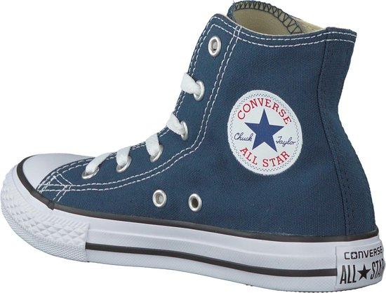Converse Meisjes Sneakers Ctas Hi Kids - Blauw - Maat 35