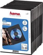 Hama Dvd Slimline Zwart 25 stuks