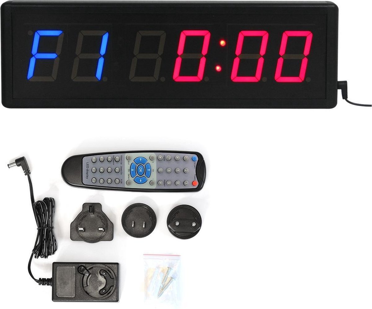CKB - Crossfit Timer - Digital Interval Timer - Medium - met afstandsbediening