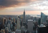 Fotobehang New York City Empire State Building | XXL - 312cm x 219cm | 130g/m2 Vlies