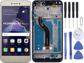 Let op type!! LCD Screen and Digitizer Full Assembly with Frame for Huawei Honor 8 Lite(Gold)