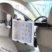IMOUNT Auto Hoofdsteun Mount 2 in 1 Autostoel Hoofdsteun Tablet en Telefoon Houder met 360 graden Verstelbare Rotatio, voor iPhone, Galaxy, Huawei, Xiaomi, Sony, LG, HTC, Google en andere smartphones, iPad, Tablet, Telefoon