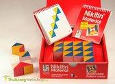 Patroonblokken Nikitin N1, set van 16 blokken en 2 voorbeeldboekjes