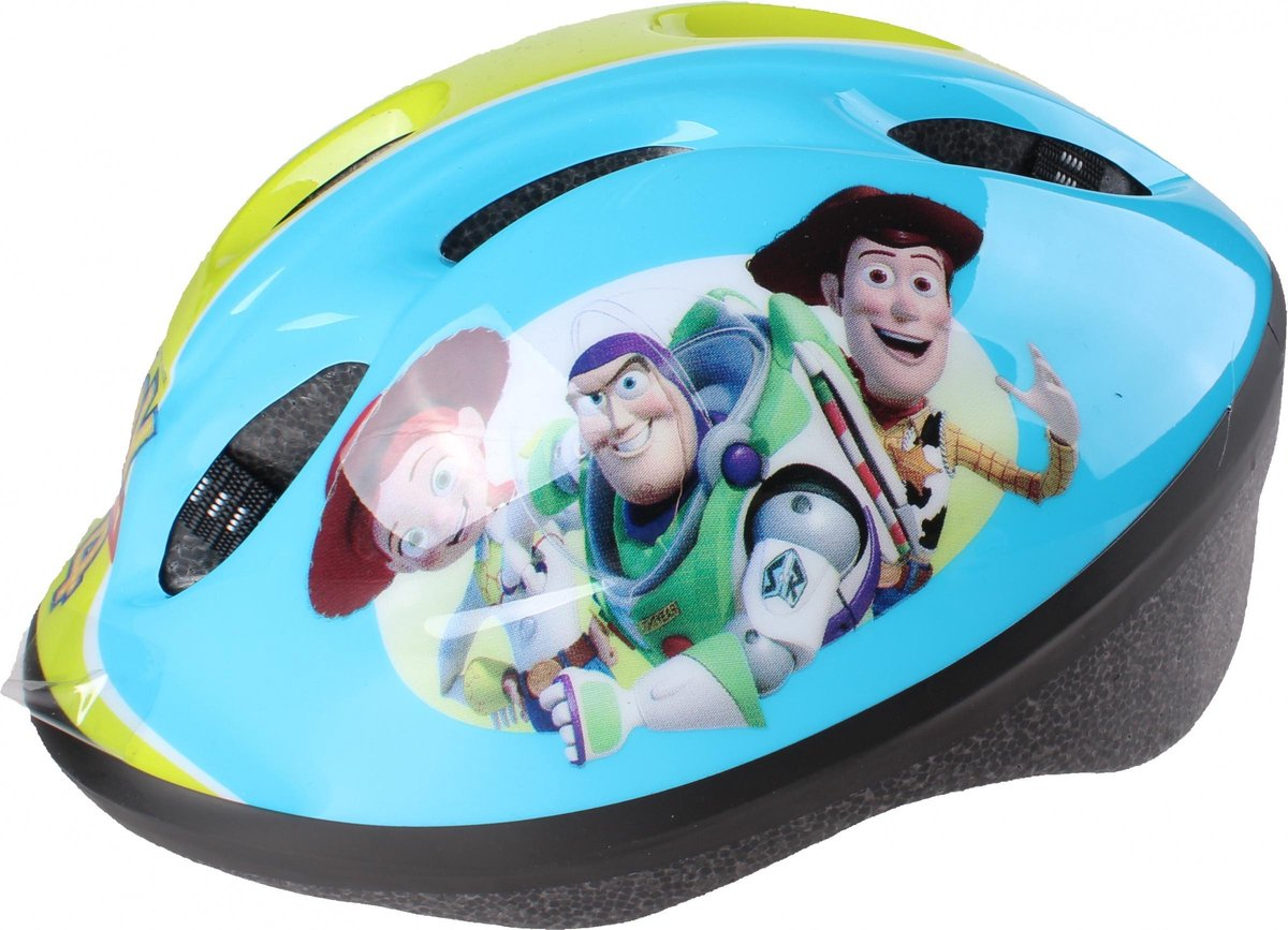 Disney Kinderhelm Met Pads Toy Story 4 Junior Blauw 5-delig