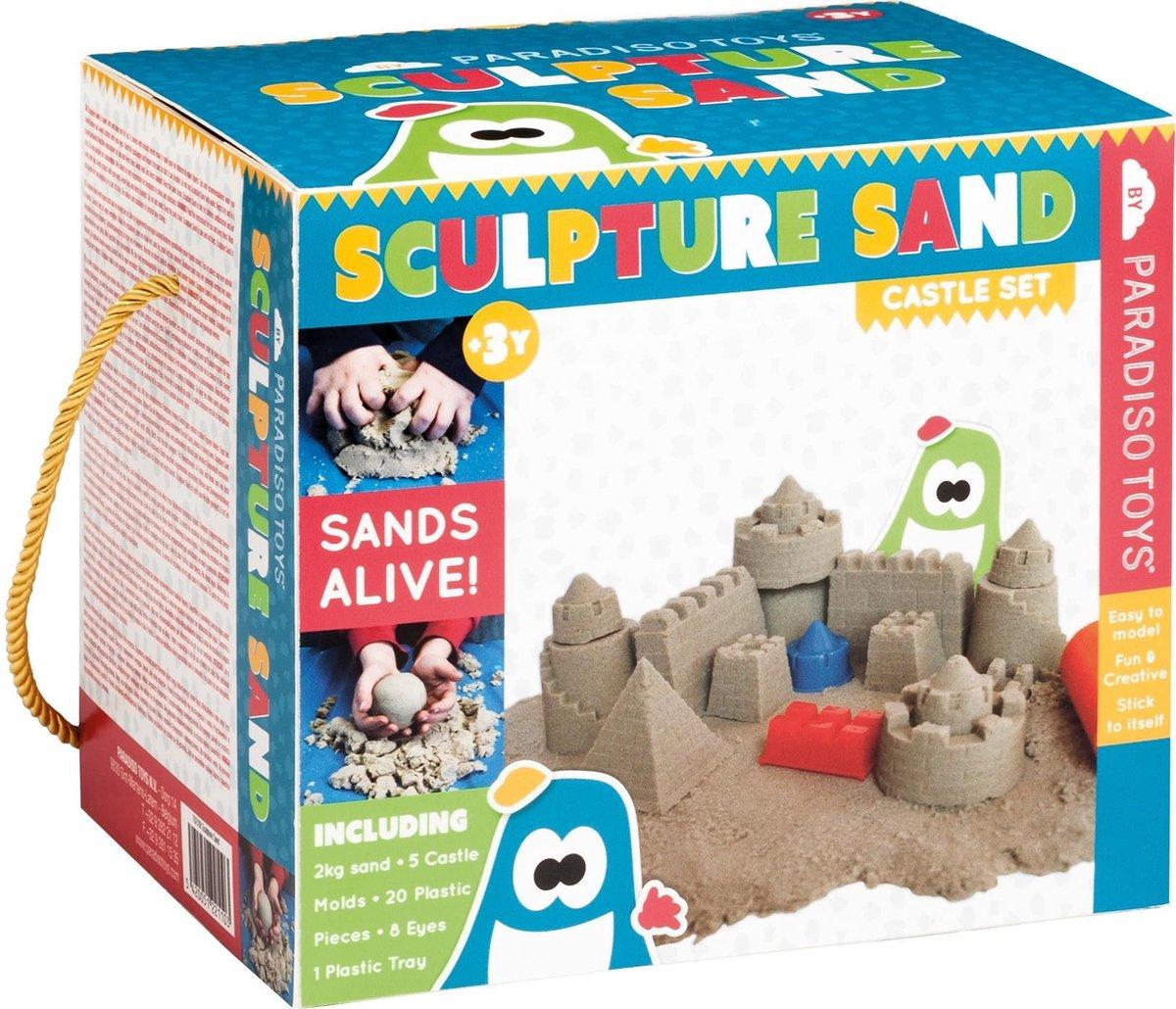 Paradiso Toys Speelzand Met Vormen 2 Kg
