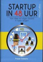 Boek cover Startup in 48 uur van Fraser Doherty