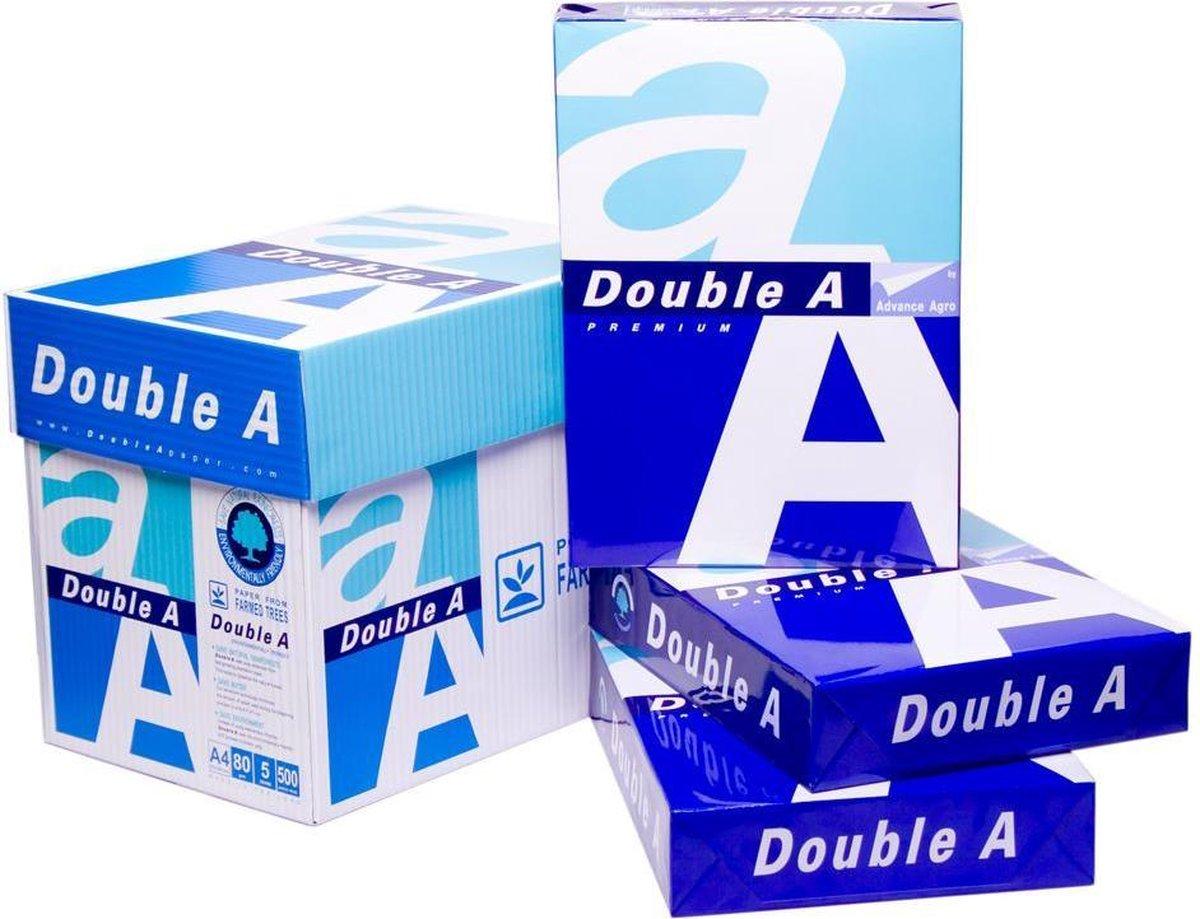 Double A A4- printpapier - 500 vellen - 1 pak - Double A