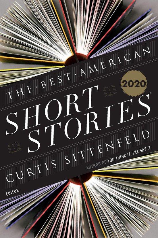 Omslag van The Best American Short Stories 2020