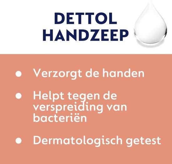Dettol Handzeep - Gevoelige Huid - 250ml x4