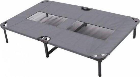 Duvo+ hondenstretcher relax grijs 102,5x68x19 cm