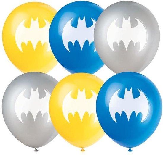 Haza Original Feestballonnen Batman 30 Cm Latex Geel 8 Stuks