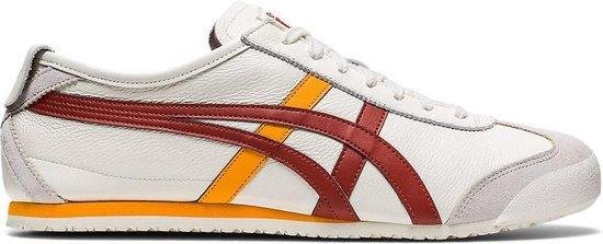Onitsuka Tiger Mexico 66 Unisex Sneakers - Cream/Spice Latte - Maat 40.5
