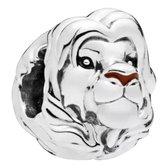 Zilveren Bedels Disney | Bedel Simba | Volwassen Zilver | Lion King | 925 Sterling Zilver | Bedels Charms Beads | Past altijd op je Pandora armband | Direct snel leverbaar | Miss Charming
