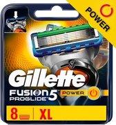 Gillette Fusion ProGlide Power 8 Scheermesjes