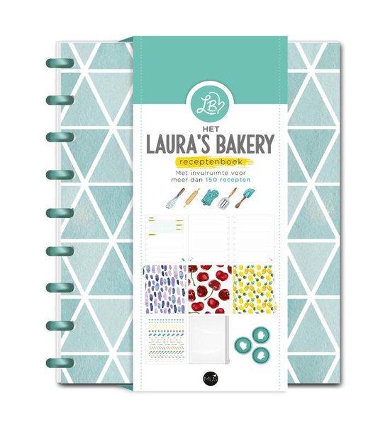 Boek cover Het Lauras Bakery Receptenboek van Laura Kieft (Onbekend)