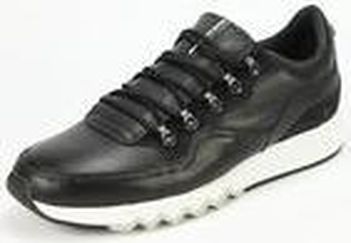 Floris van Bommel - sneakers - 16393/22 - zwart leer