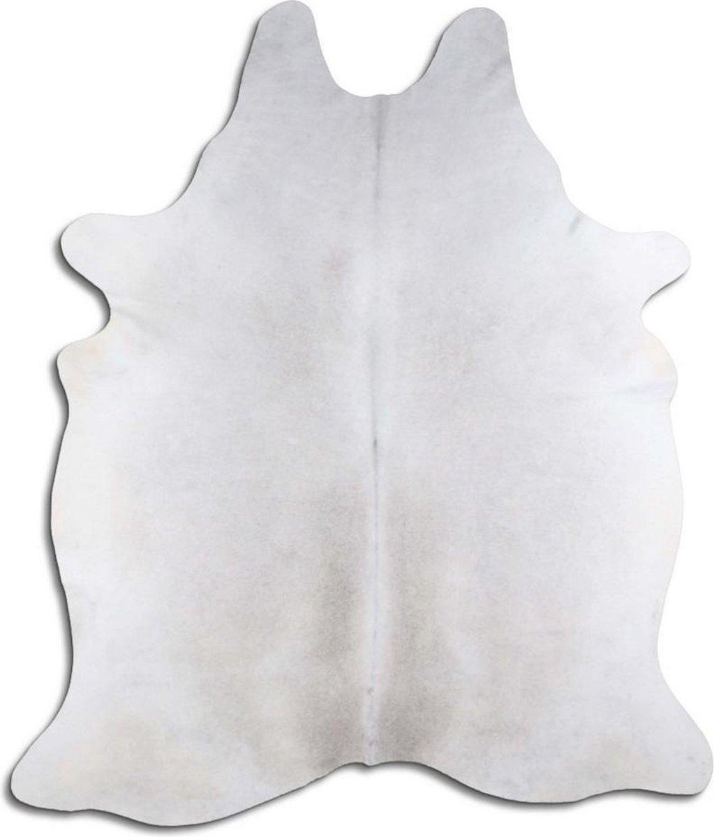 Koeienhuid 1624 Large vloerkleed - By Max - Grijs - 225x200 - Echt leer - Dierenvellen